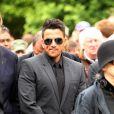 Le chanteur Peter Andre aux obsèques de Robin Gibb à Thame le 7 juin 2012.