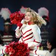 Madonna sur scène à Istanbul, le 7 juin 2012.
