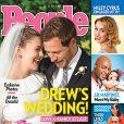 Drew Barrymore et Will Kopelman, mariés, en couverture du magazine People - 16 juin 2012