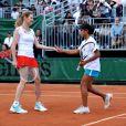 Steffi Graf lors de la journée à Roland Garros au profit de la fondation Children for Tomorrow, présidée par Steffi Graf à l'Hôtel national de Chaillot à Paris le samedi 9 juin 2012 à Paris