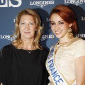 Steffi Graf, en célibataire, brille aux côtés de Miss France et Elisa Tovati