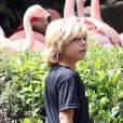 Kingston Rossdale en visite au Zoo à Los Angeles, le 9 juin 2012.