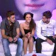 Capucine, Yoann et Alexandre dans la quotidienne de Secret Story 6 du 11 juin 2012 sur TF1