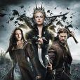 Charlize Theron, Chris Hemsworth et Kristen Stewart dans  Blanche-Neige et le chasseur.