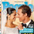 Matthew McConaughey et Camila Alves, heureux mariés en couverture de People