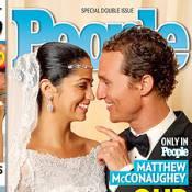 Matthew McConaughey et Camila Alves : Première photo de mariage !
