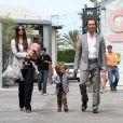 Matthew McConaughey et Camila Alves et leurs enfant Vida et Levi