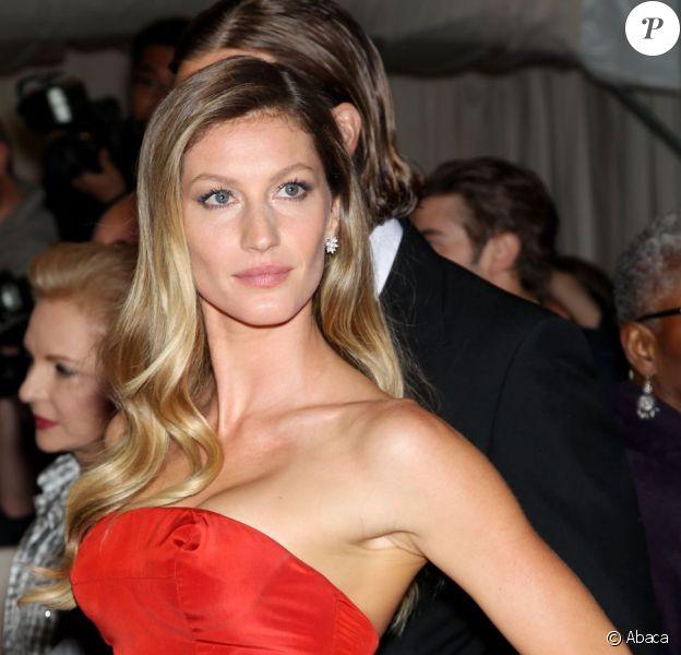 Gisele Bündchen, mannequin le mieux payé de l'année selon le classement Forbes avec 45 millions de dollars