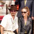 Vanessa Paradis et Johnny Depp, unis en 2005 sur le Walk of Fame