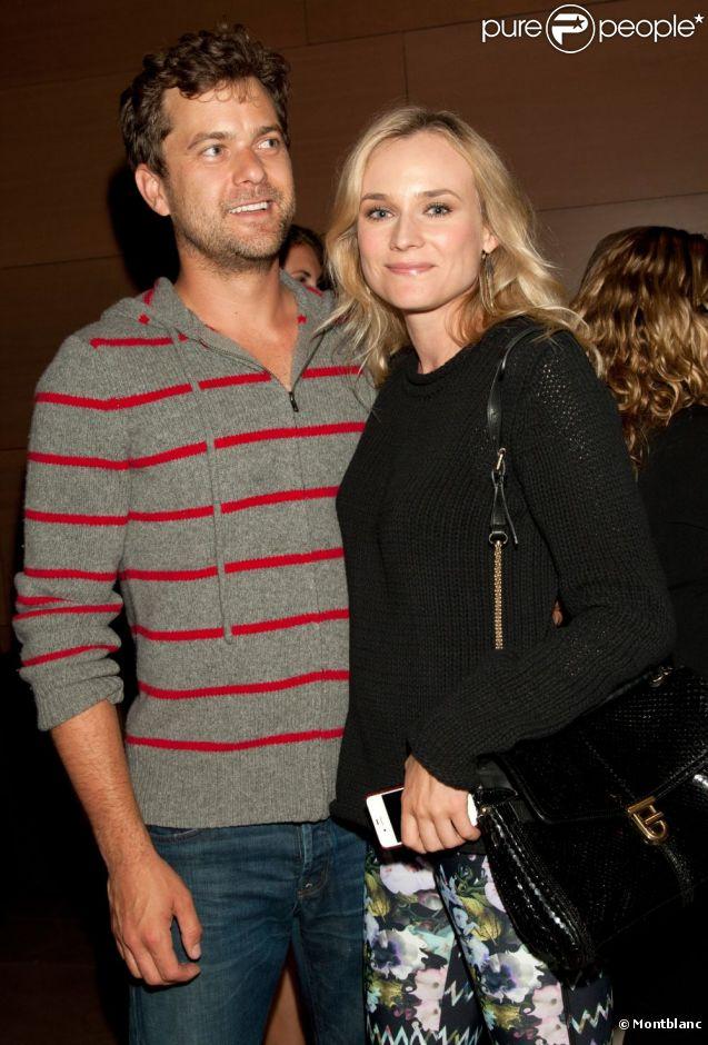 Joshua Jackson et Diane Kruger supportent l'art de rue en amoureux lors de la soirée The 24 Hours Play présentée par Montblanc. Santa Monica, le 17 juin 2012.