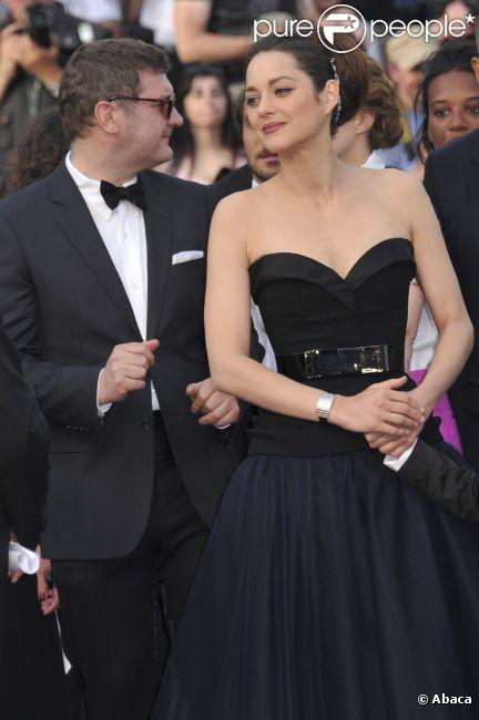 Marion Cotillard lors du Festival de Cannes 2012