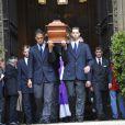 Les obsèques de Thierry Roland se sont tenues le 21 juin 2012 en l'église Sainte-Clotilde à Paris