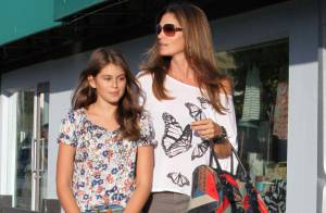 Cindy Crawford : Le top model a le même look que sa fille Kaia, 10 ans