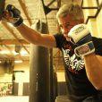 Cyril Viguier, lors des entraînements pour le MMA à Las Vegas, en août 2011.