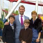 Les princes Nikolai et Felix ravis avec la comtesse Alexandra et leur beau-père