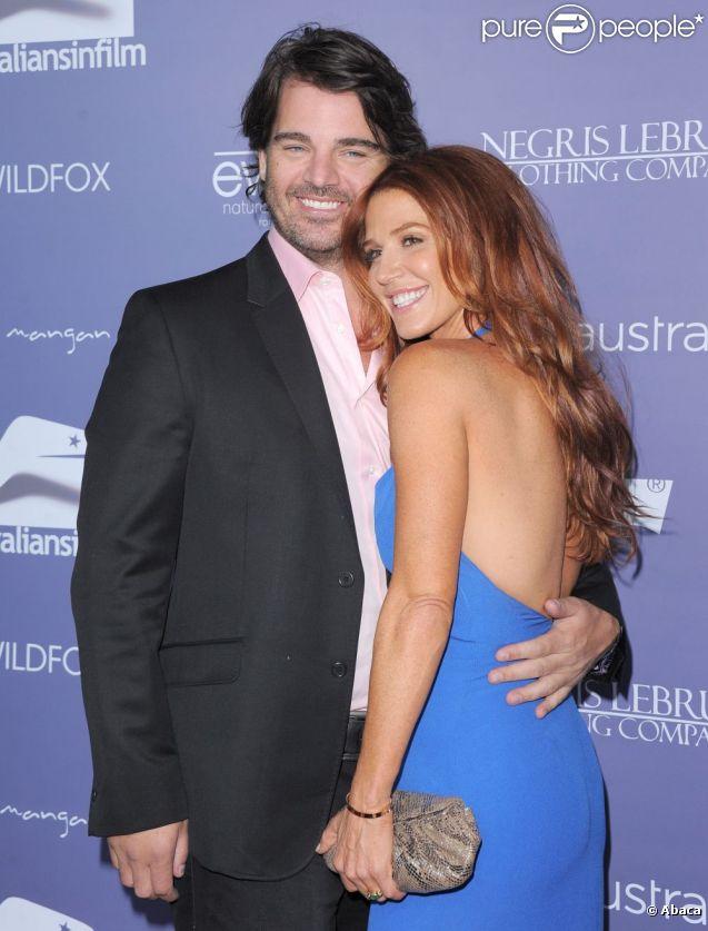 Yvonne Strahovski couple