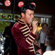 Bruno lors du showcase des Anges de la télé-réalité 4 au Ice Baar des Chalos-Elysées le 27 juin 2012 à Paris