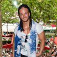 Anthony lors du showcase des Anges de la télé-réalité 4 au Ice Baar des Chalos-Elysées le 27 juin 2012 à Paris