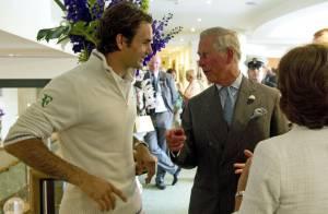 Prince Charles - Wimbledon 42 ans après: révérence de Federer et sourire de Miss