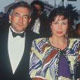 Anne Sinclair et Dominique Strauss-Kahn au Festival de Cannes, mai 1991.