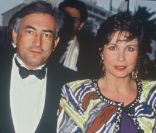 Anne Sinclair et Dominique Strauss-Kahn au Festival de Cannes, mai 1991.
