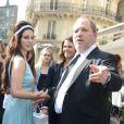 Lana Del Rey et Harvey Weinstein ont déjeuné ensemble au restaurant  L'Avenue  à Paris le 2 juillet 2012