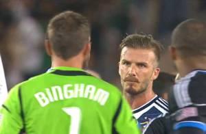 David Beckham : Lourdement sanctionné pour avoir provoqué une bagarre