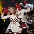 Madonna, MDNA Tour au Stade olympique de Rome, le 12 juin 2012.