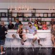 Le F*** Me I'm Famous Lounge Club au coeur de l'aéroport d'Ibiza, le 17 juillet 2012.