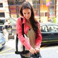 Katie Holmes à New York le 18 juillet 2012 avant son cours de gym