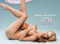 Jessica-Jane Clement : Entièrement nue pour sauver la peau des animaux