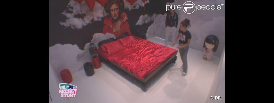 Capucine et Yoann accèdent à la Love Room (Secret Story 6