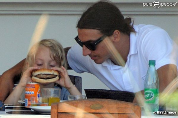 Ibrahimovic rencontre sa femme