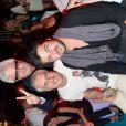 Marc Cerrone, DJ Pompougnac et Greg Cerrone, à la soirée organisée par l'hôtel Byblos à St-Tropez, le samedi 21 juillet 2012.