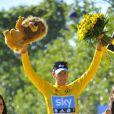 Bradley Wiggins a remporté le Tour de France le 22 juillet 2012