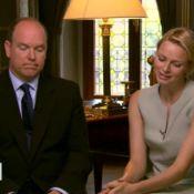 Albert et Charlene, interview pour leur 1er anniversaire de mariage: un fiasco !