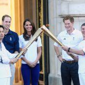 Kate Middleton, William, Harry : La flamme des Jeux s'empare d'eux à Buckingham