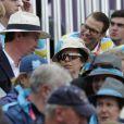 Le prince Daniel de Suède et le prince Carl Philip de Suède étaient à Greenwich Park le 31 juillet pour voir l'équipe de Suède se classer 4e du concours complet derrière l'Allemagne, le Royaume-Uni avec Zara Phillips et la Nouvelle-Zélande.
