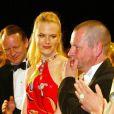 Nicole Kidman et Lars von Trier en 2003 à Cannes.