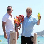Elton John : Vacances en famille avec les enfants de son ami Neil Patrick Harris