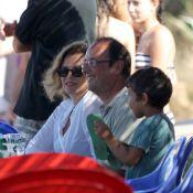 François Hollande : Petit drink à la buvette du coin avec Valérie Trierweiler...