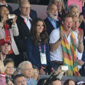 JO - Kate Middleton au côté de Harry déchaîné : ambiance de feu pour Usain Bolt