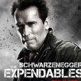 Arnold Schwarzenegger dans  Expendables 2 . En salles le 22 août.