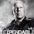 Bruce Willis dans  Expendables 2 . En salles le 22 août.