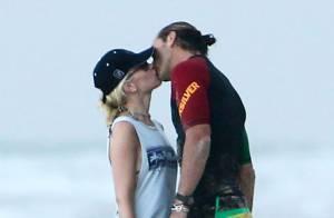 Gwen Stefani : Baiser tendre avec Gavin Rossdale et rires sur la plage avec Zuma
