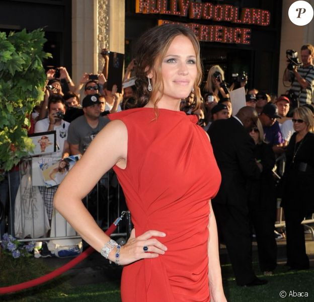 Jennifer Garner superbe à l'avant-première de The Odd Life of Timothy Green à Los Angeles, le 6 août 2012.