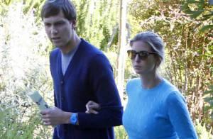 Ivanka Trump et son mari Jared : Gestes tendres dans les jardins californiens