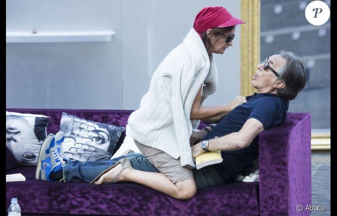 raphaeline goupilleau et richard berry au festival de ramatuelle 2012. Black Bedroom Furniture Sets. Home Design Ideas