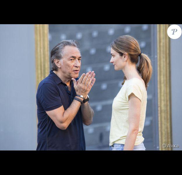 Pascale Louange et Richard Berry au festival de Ramatuelle 2012