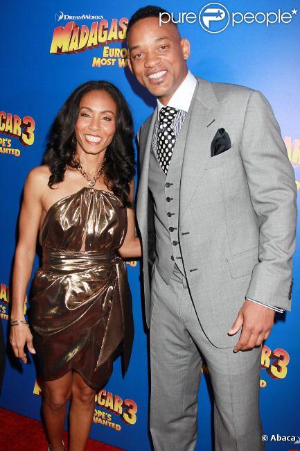 Jada Pinkett Smith et Will Smith, en juin 2012 à New York City.